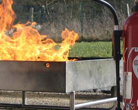 Feu d'entraînement pour Formation incendie