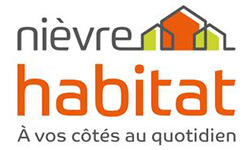Logo Nièvre Habitat