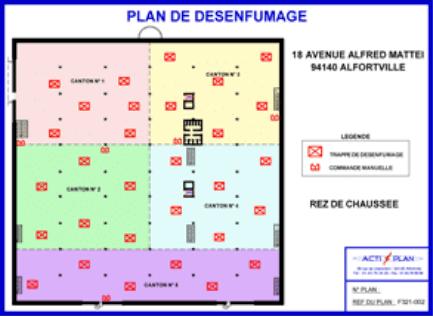 Plan de désenfumage pour entreprise et Etablissement Recevant du Public (ERP)
