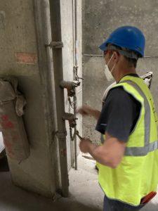 Maintenance, entretien et contrôle de colonne sèche